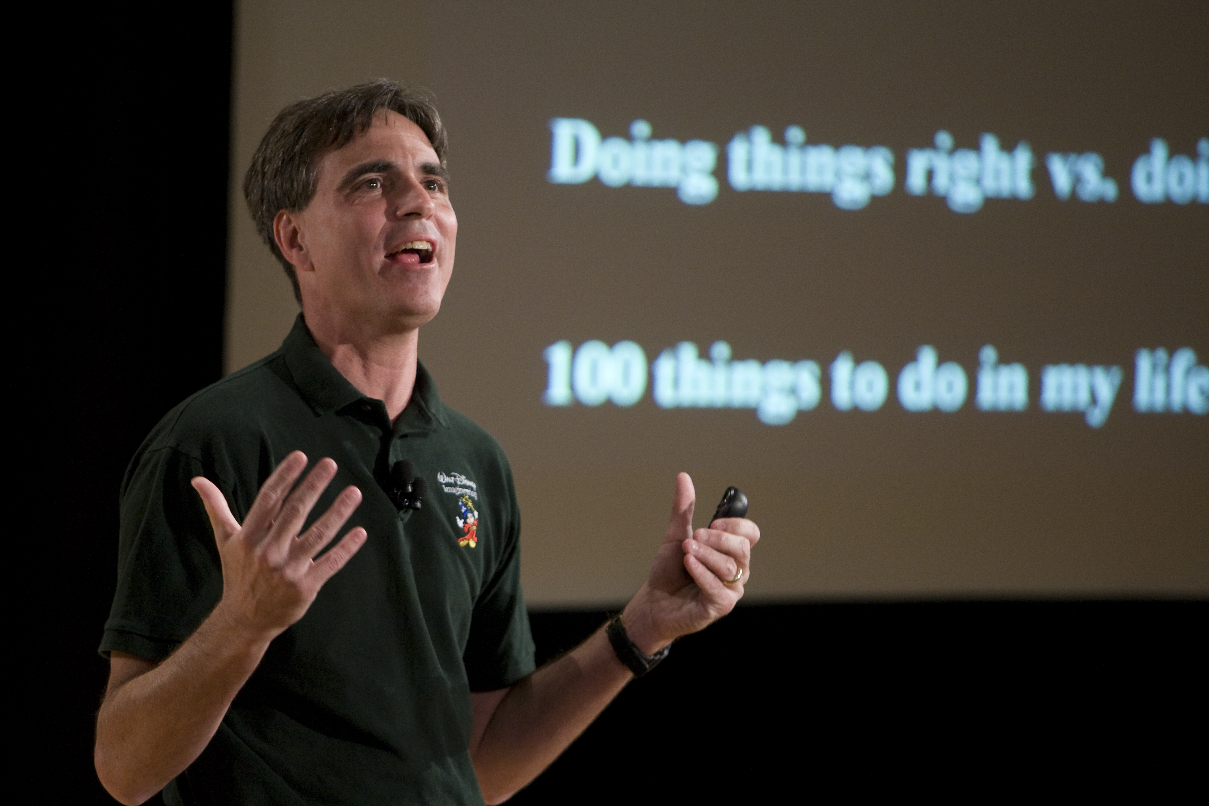 randy pausch inspiration to both students Latest update on randy pausch randy, there will be generations of students and i felt like i truly knew randy pauschhe was / and is an inspiration to.